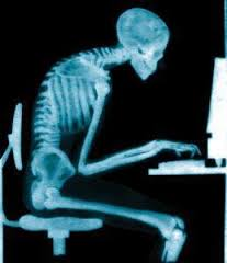 This posture doesn't help your surfing.