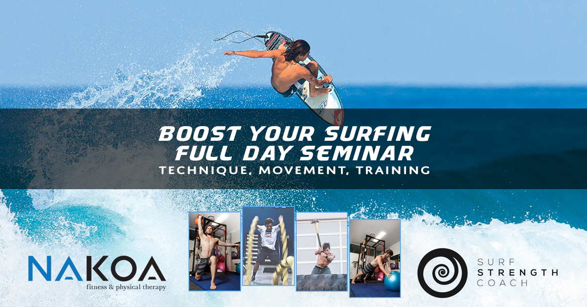 Boost Your Surfing Seminar – Carlsbad